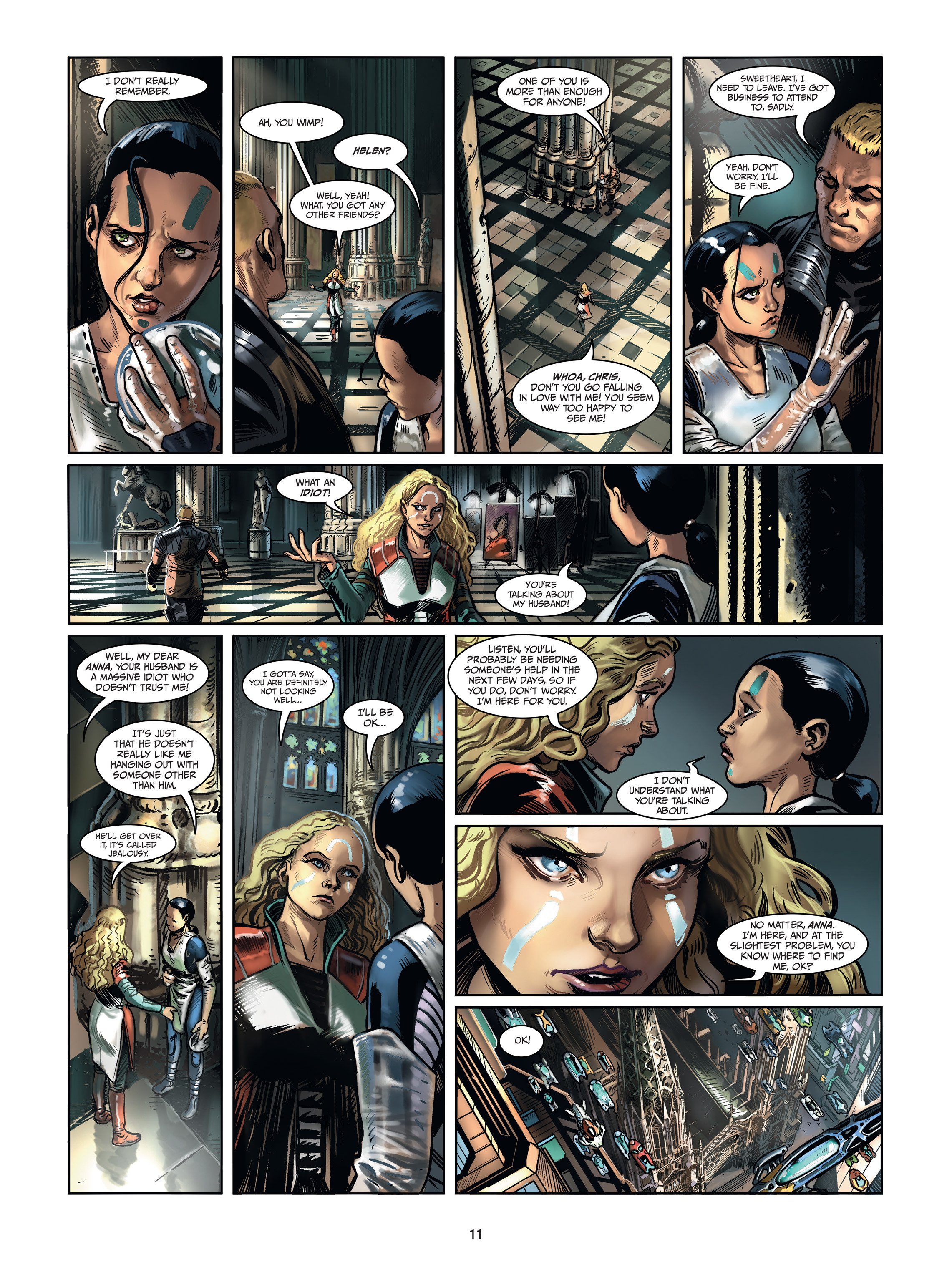 Read online Androïds comic -  Issue #1 - 9