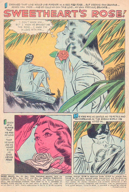 Read online Secret Hearts comic -  Issue #44 - 3