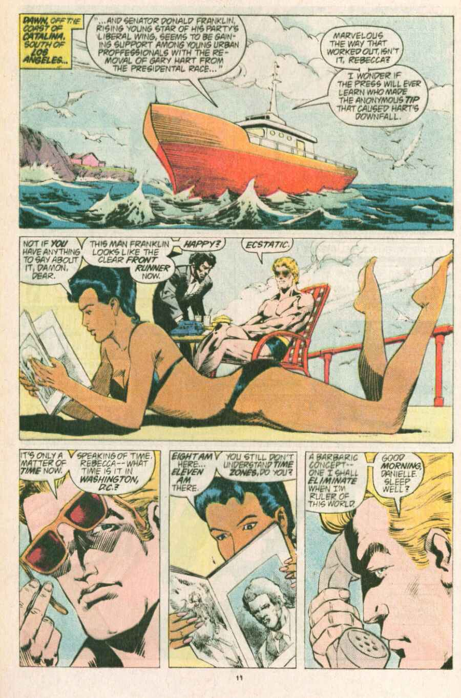 Read online Justice (1986) comic -  Issue #13 - 12