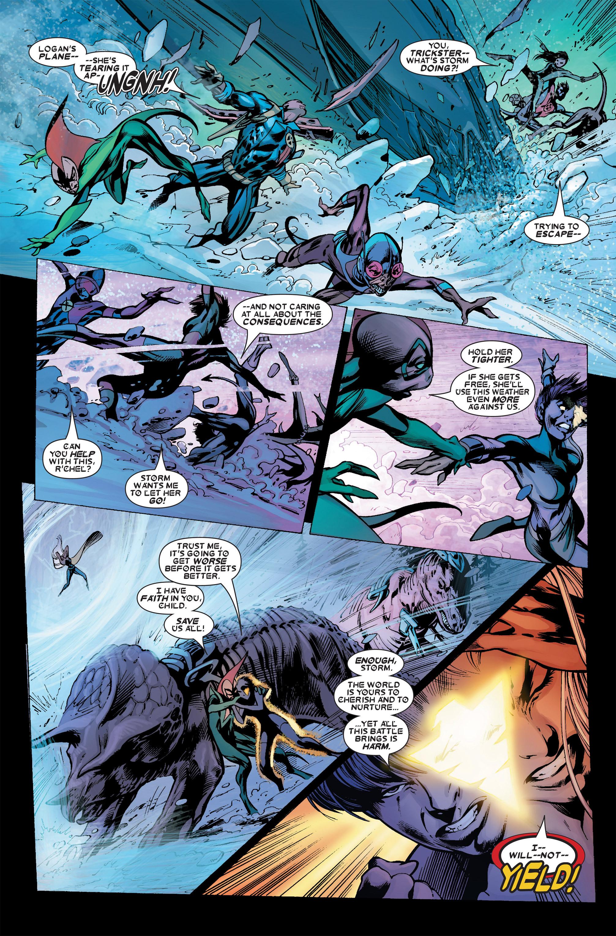 Read online Uncanny X-Men (1963) comic -  Issue #456 - 16