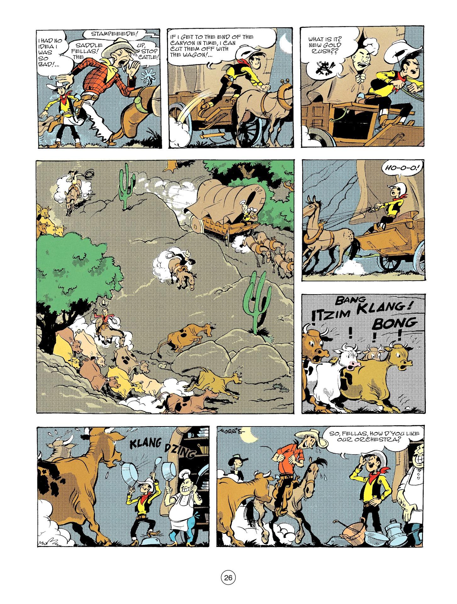 Read online A Lucky Luke Adventure comic -  Issue #56 - 26