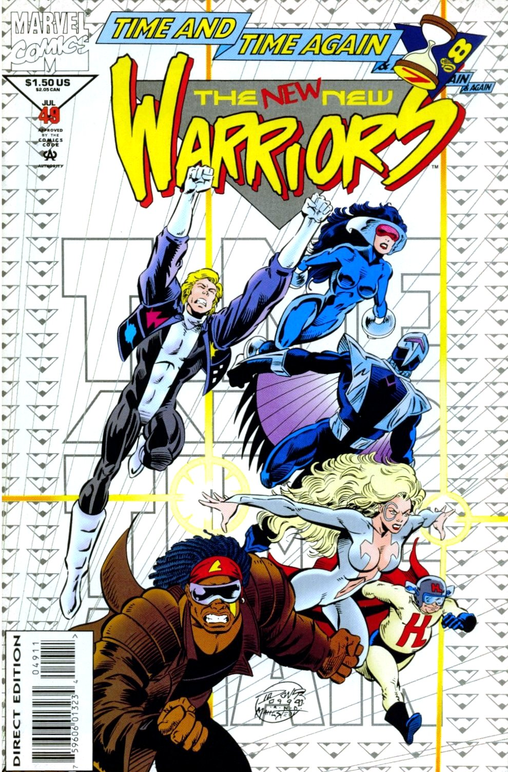 The New Warriors Issue #49 #53 - English 1