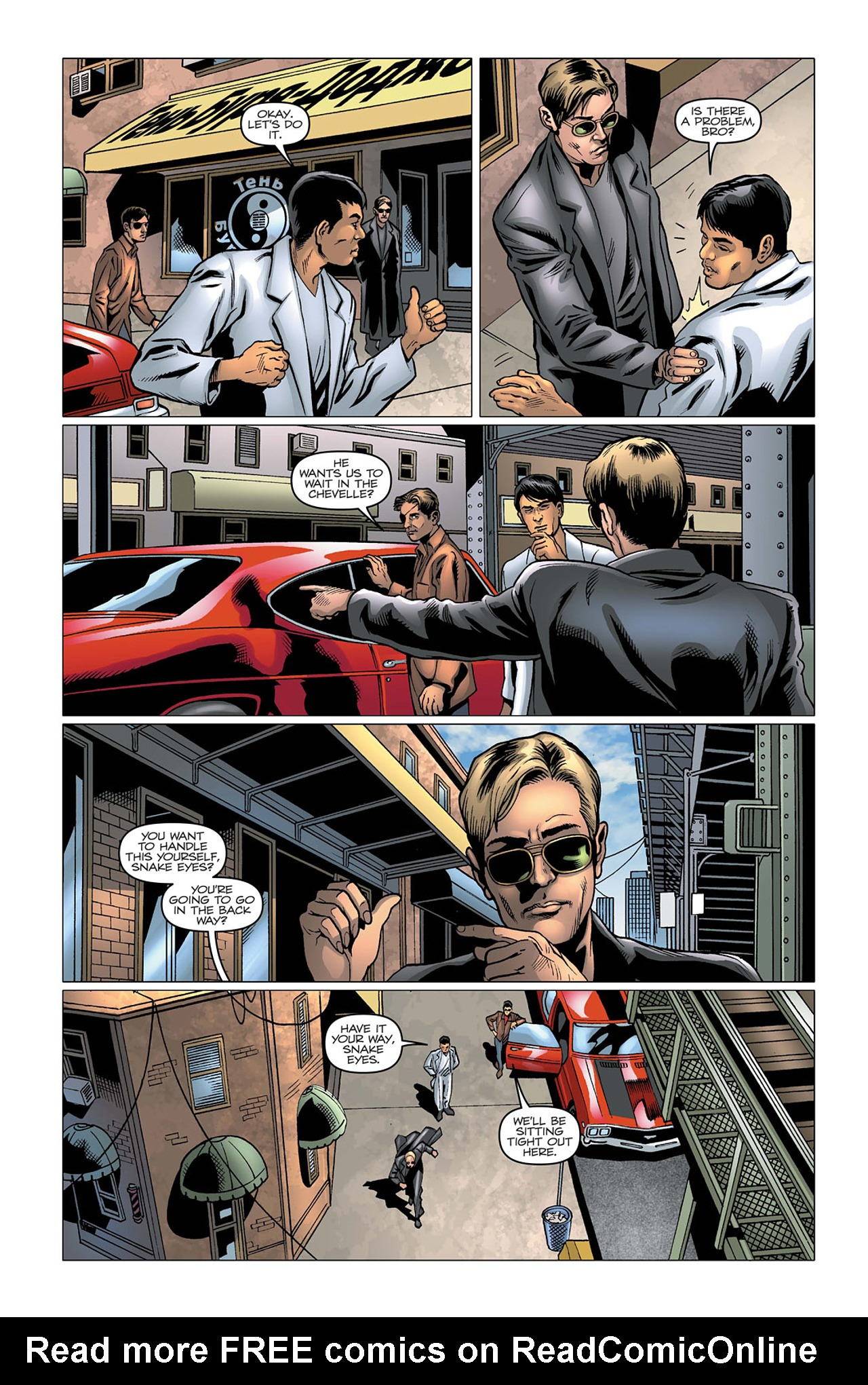 G.I. Joe: A Real American Hero 169 Page 6