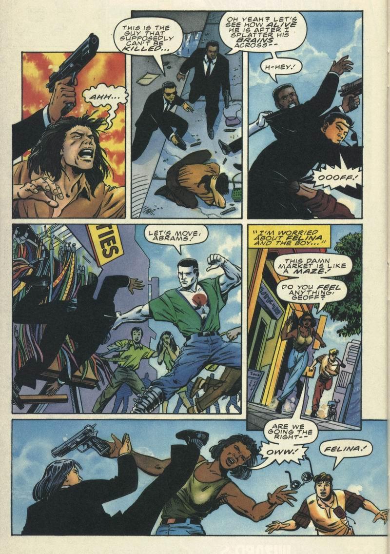 Read online Secret Weapons comic -  Issue #9 - 17