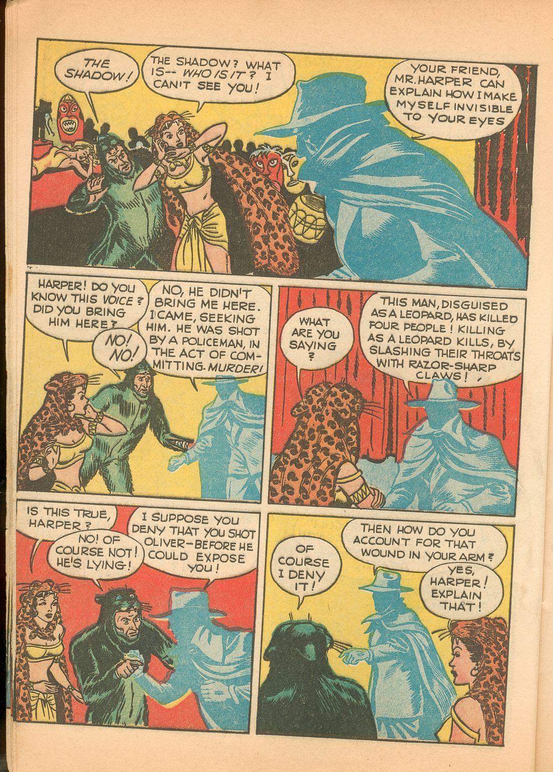 Read online Shadow Comics comic -  Issue #11 - 14