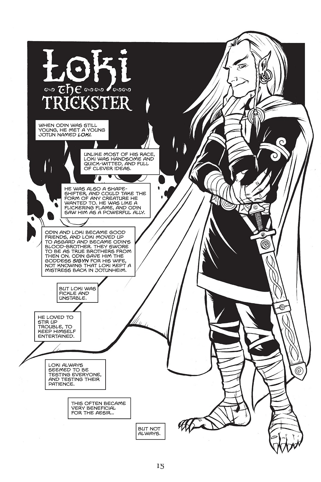 Read online Gods of Asgard comic -  Issue # TPB (Part 1) - 16