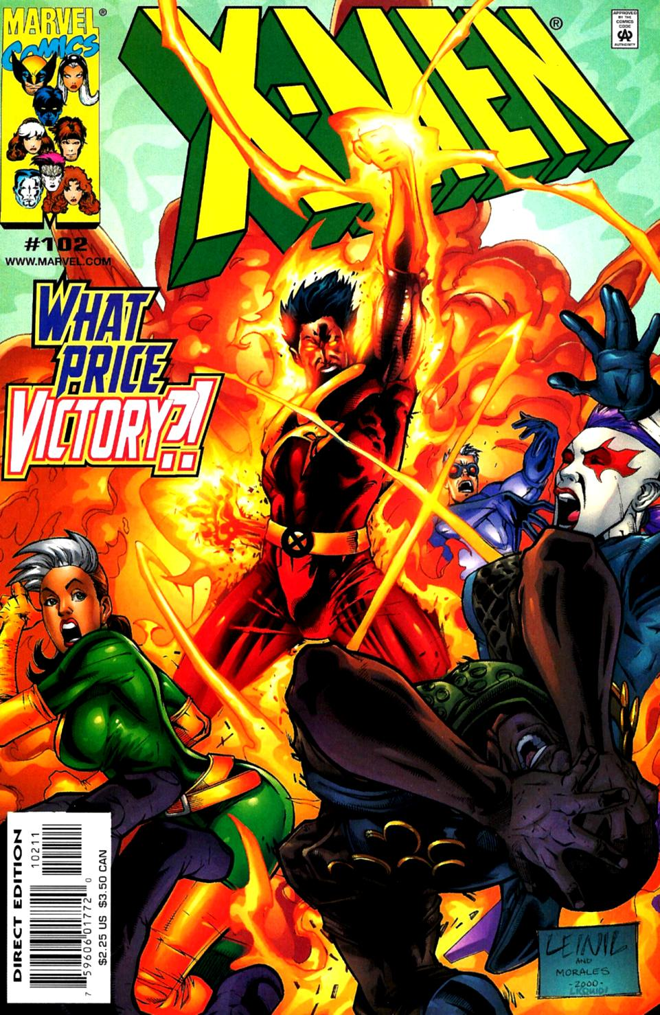X-Men (1991) 102 Page 0