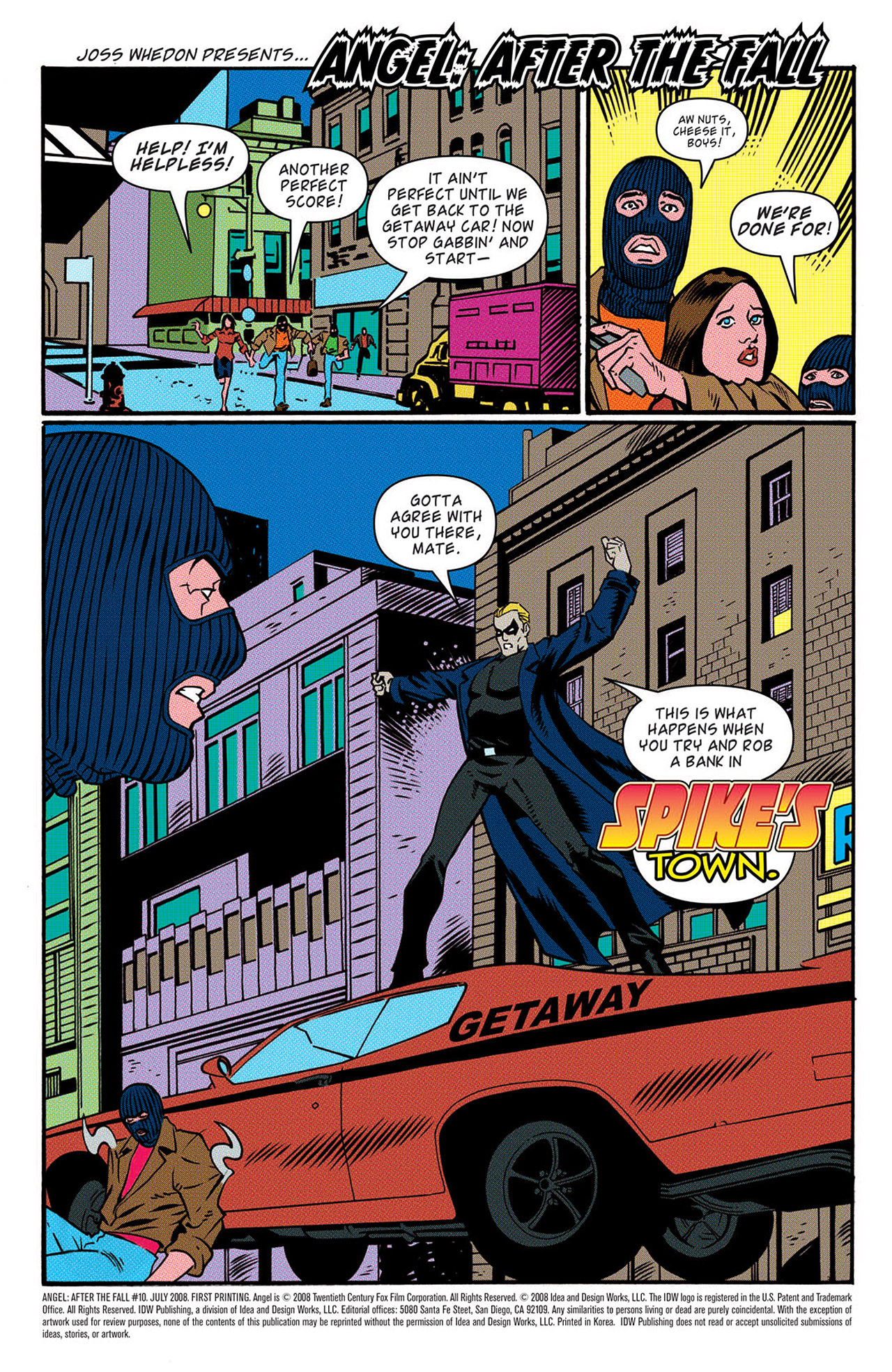 Read online Angel: After The Fall comic -  Issue #10 - 4