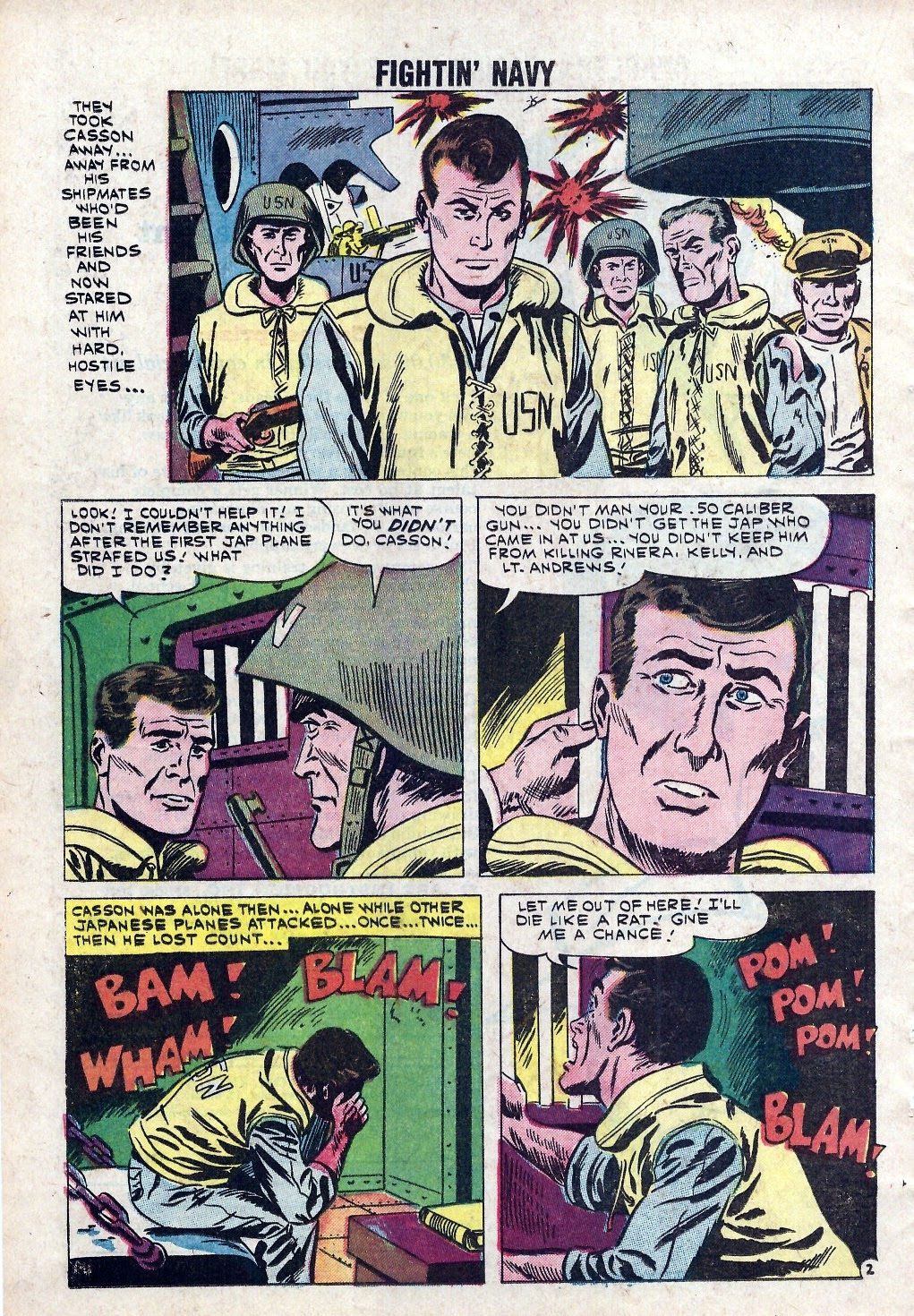 Read online Fightin' Navy comic -  Issue #94 - 16