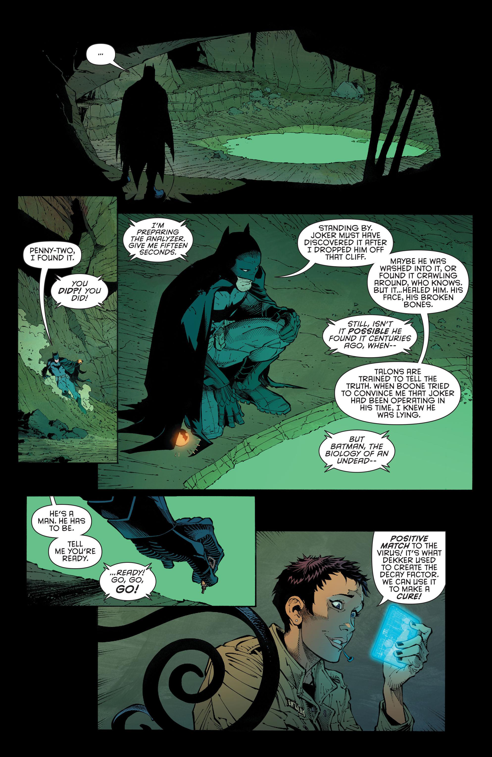 Read online Batman (2011) comic -  Issue # _TPB 7 - 133