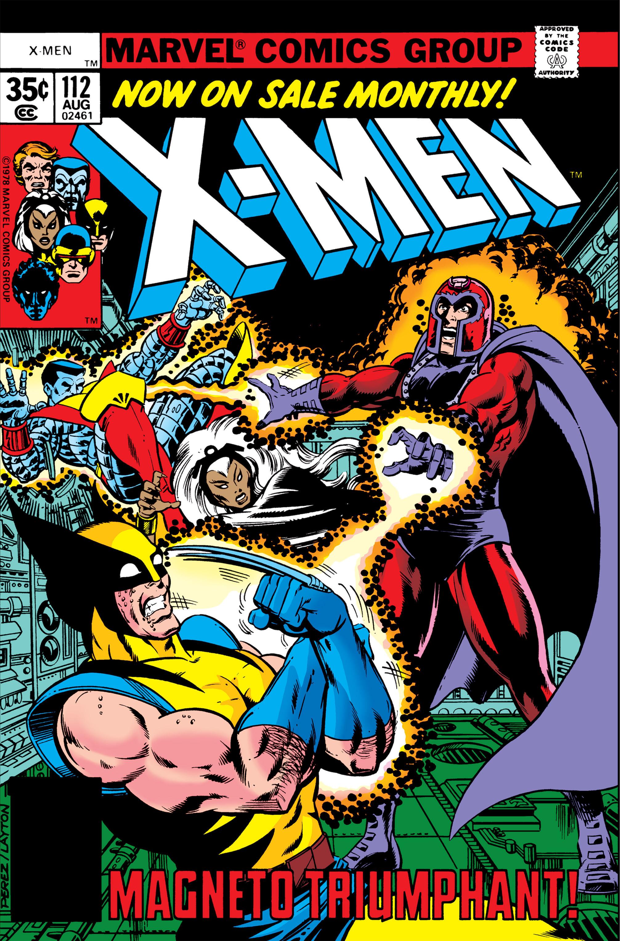 Uncanny X-Men (1963) 112 Page 1
