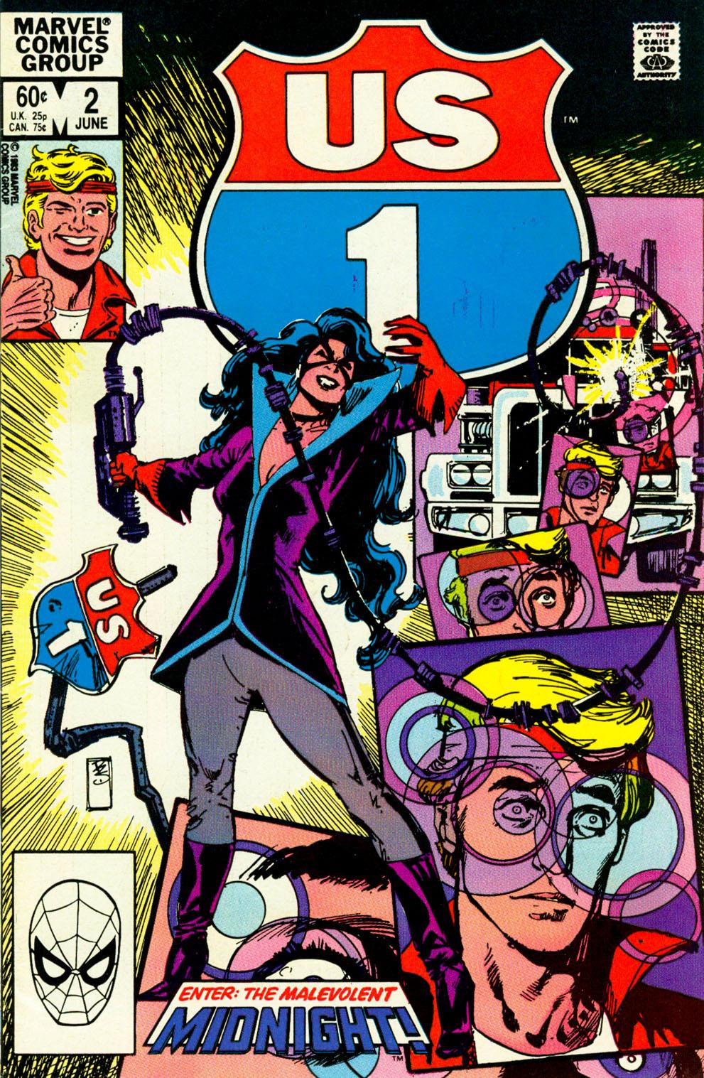 Read online U.S. 1 comic -  Issue #2 - 1