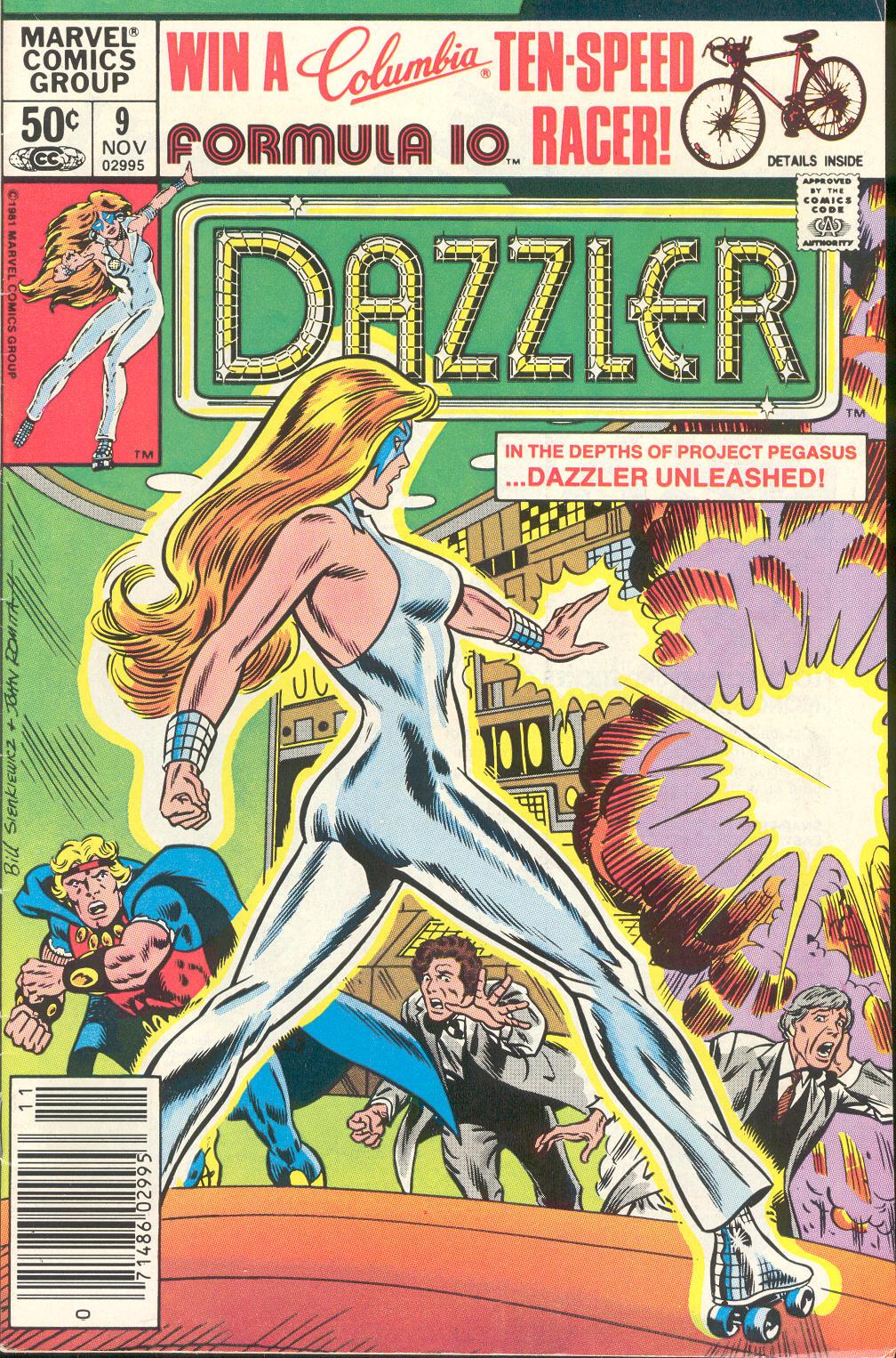 Dazzler (1981) 9 Page 1