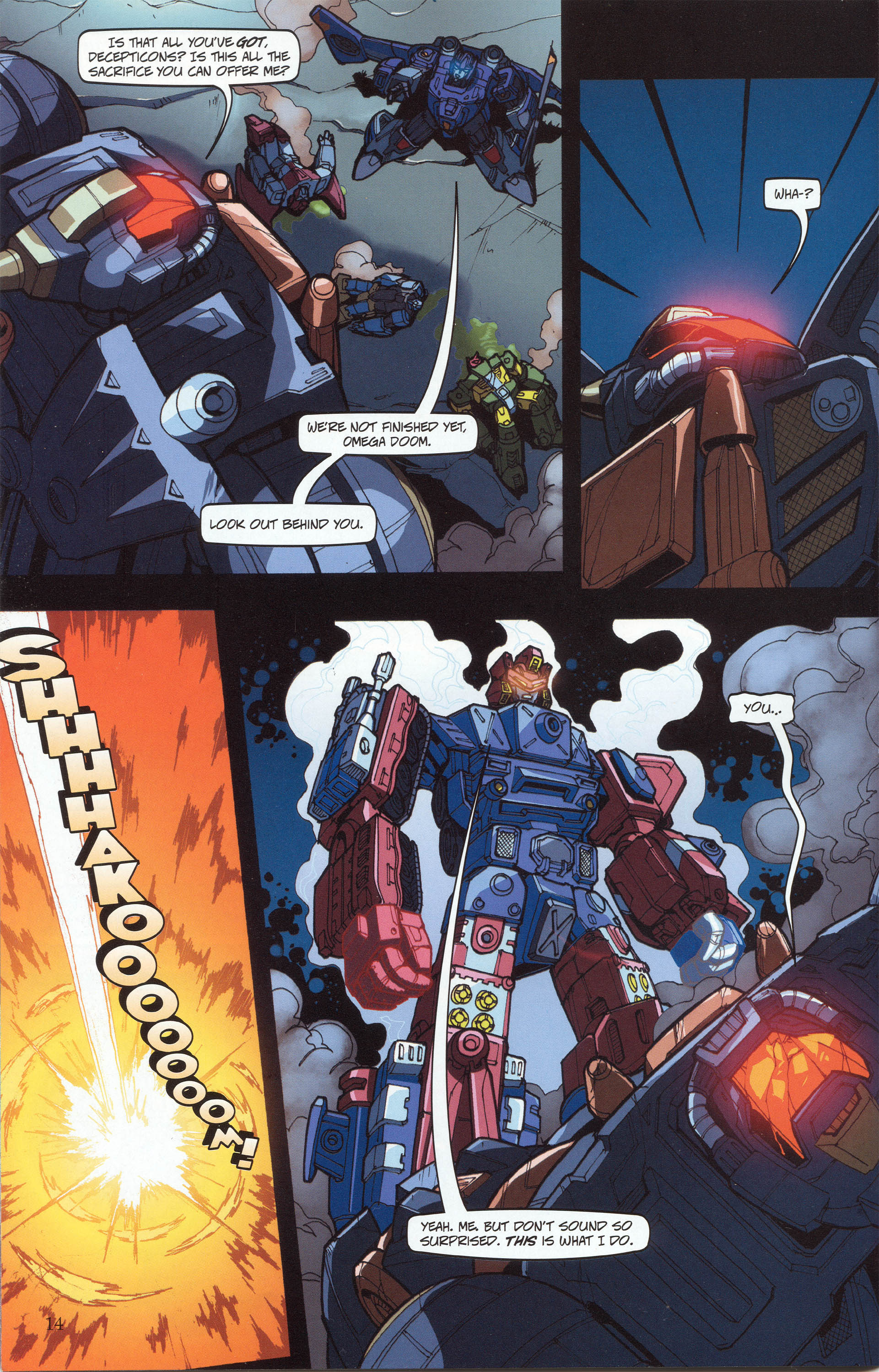 Read online Transformers: Collectors' Club comic -  Issue #30 - 14