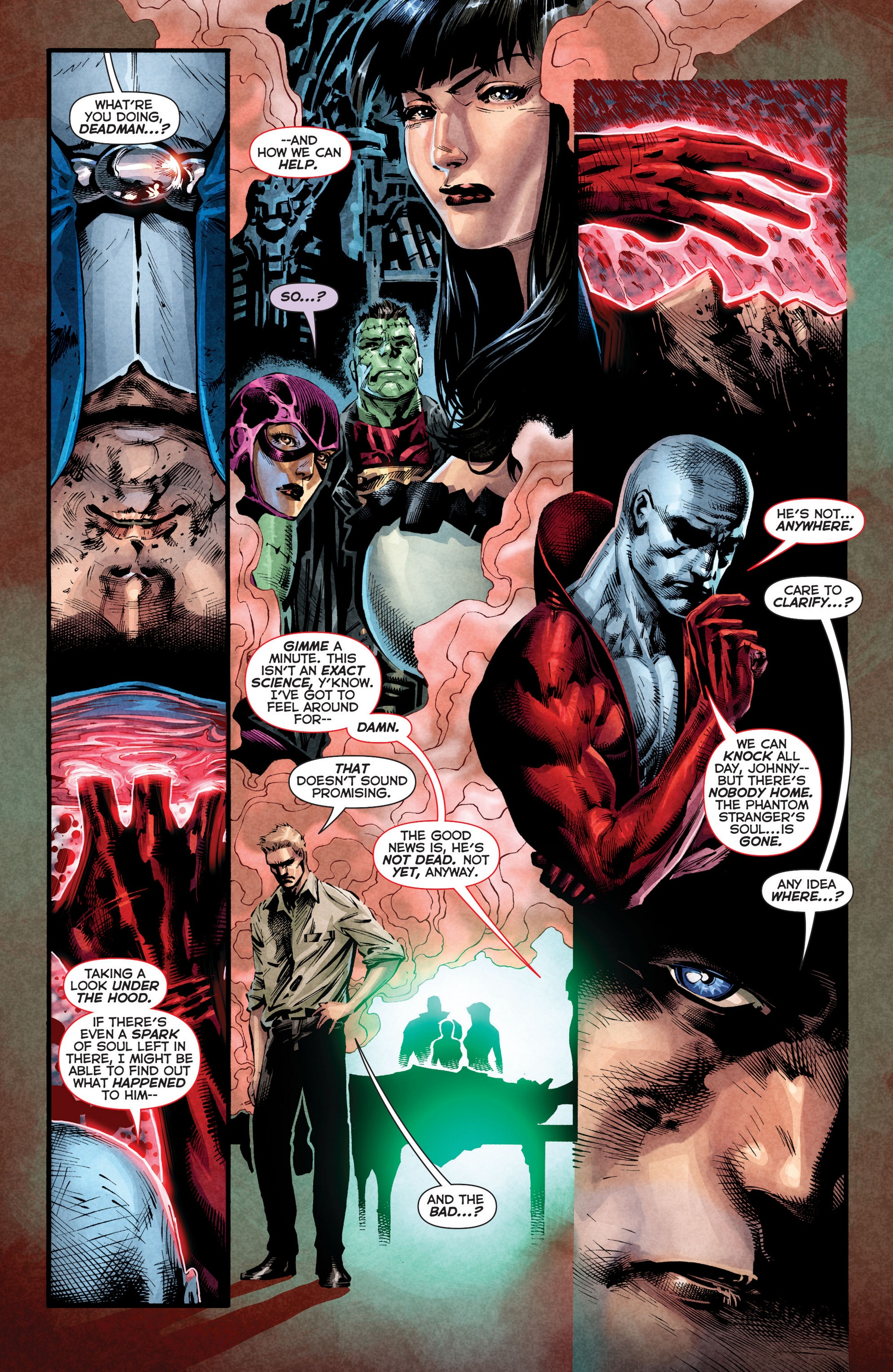 Read online Trinity of Sin: The Phantom Stranger comic -  Issue #8 - 4