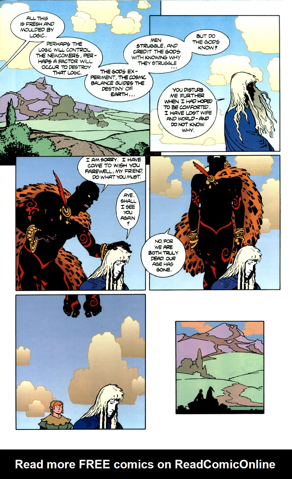 Read online Elric: Stormbringer comic -  Issue #7 - 23
