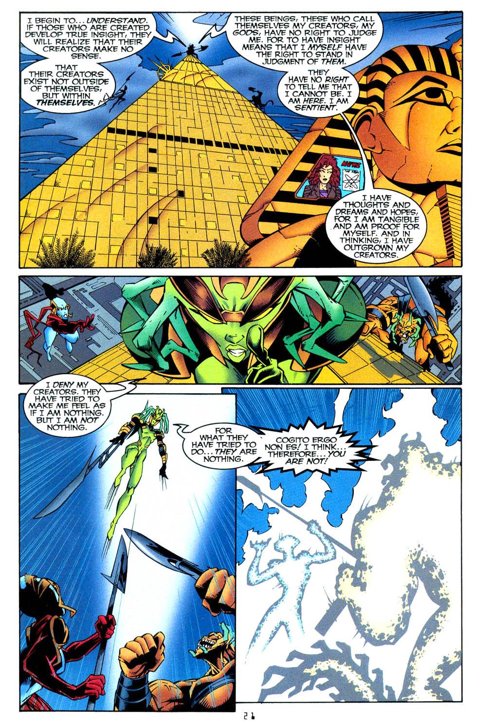 Read online Tangent Comics/ Wonder Woman comic -  Issue # Full - 21