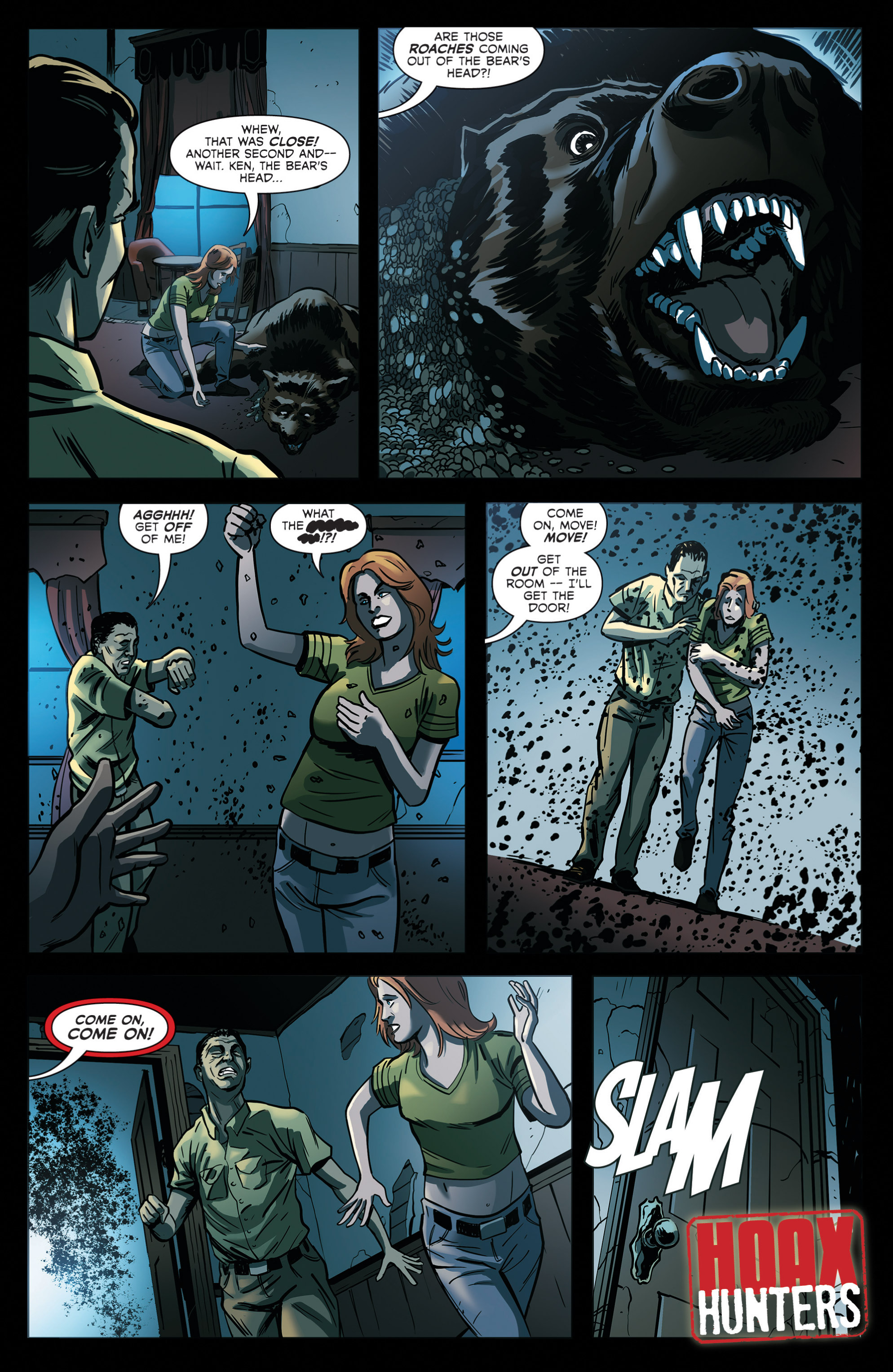 Read online Hoax Hunters (2012) comic -  Issue # TPB 2 - 82