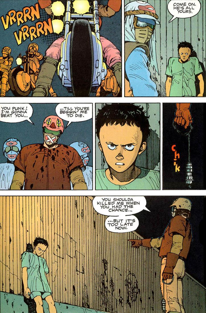 Read online Akira comic -  Issue #3 - 63