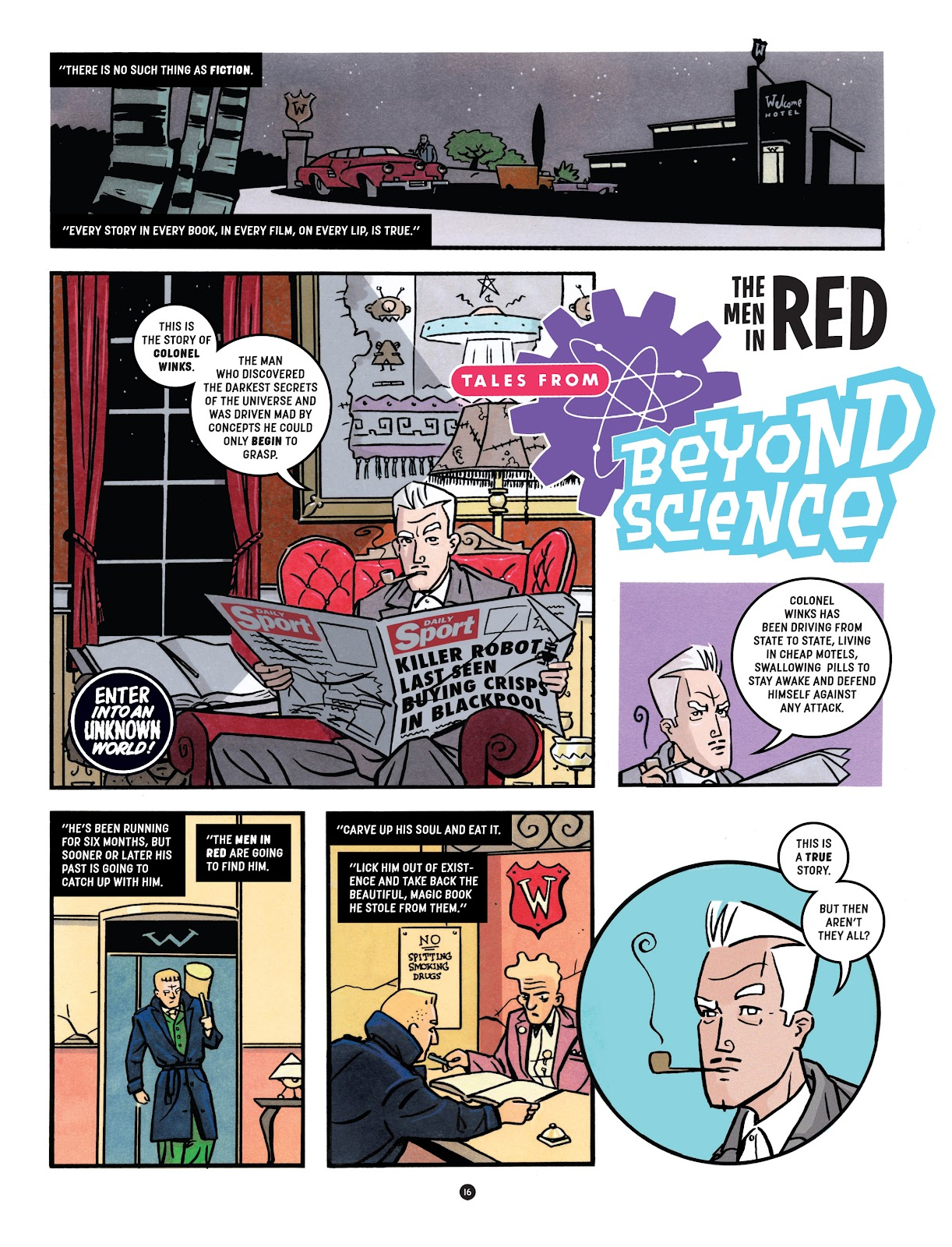 Read online Tales from Beyond Science comic -  Issue # TPB - 17