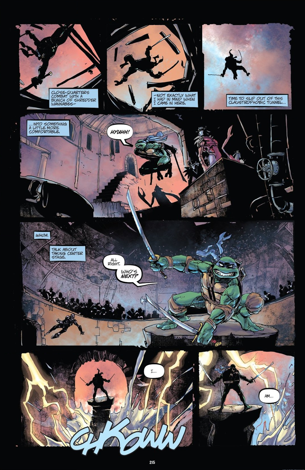 Read online Teenage Mutant Ninja Turtles: The IDW Collection comic -  Issue # TPB 8 (Part 3) - 14