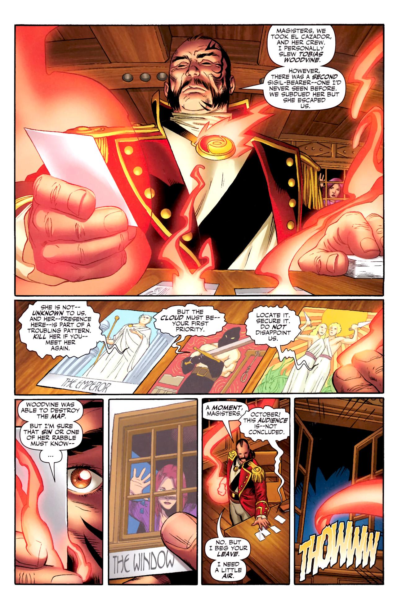 Read online Sigil (2011) comic -  Issue #3 - 8