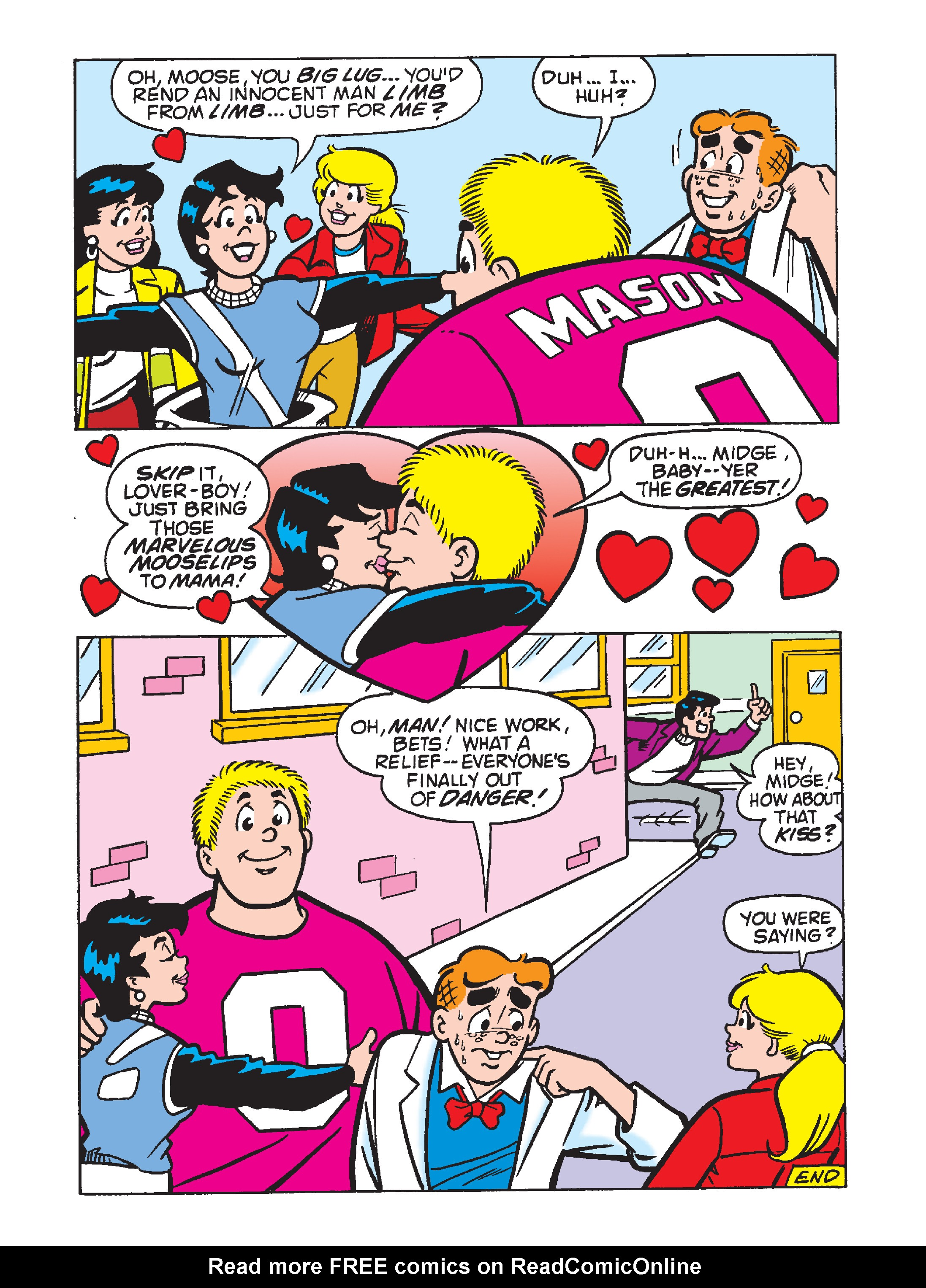 Read online Archie 75th Anniversary Digest comic -  Issue #4 - 155