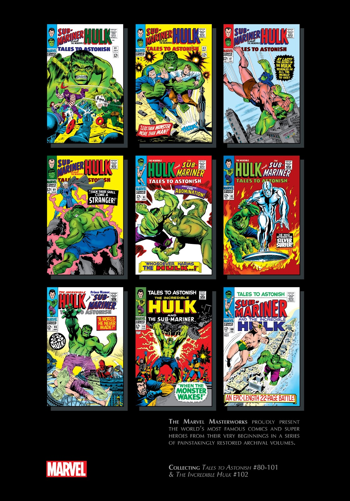 Read online Marvel Masterworks: The Incredible Hulk comic -  Issue # TPB 3 (Part 3) - 88