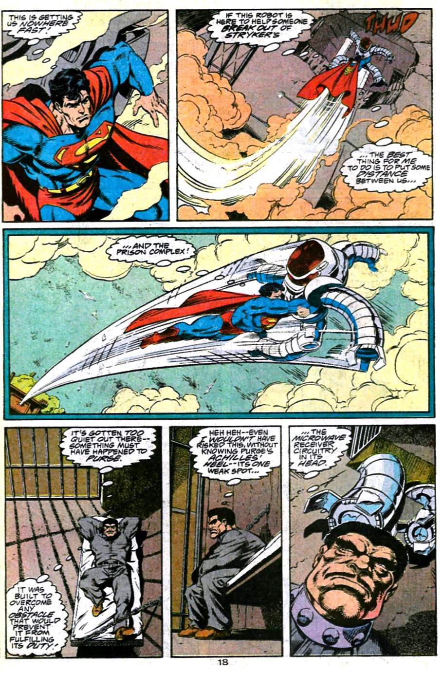 Read online Adventures of Superman (1987) comic -  Issue #486 - 19
