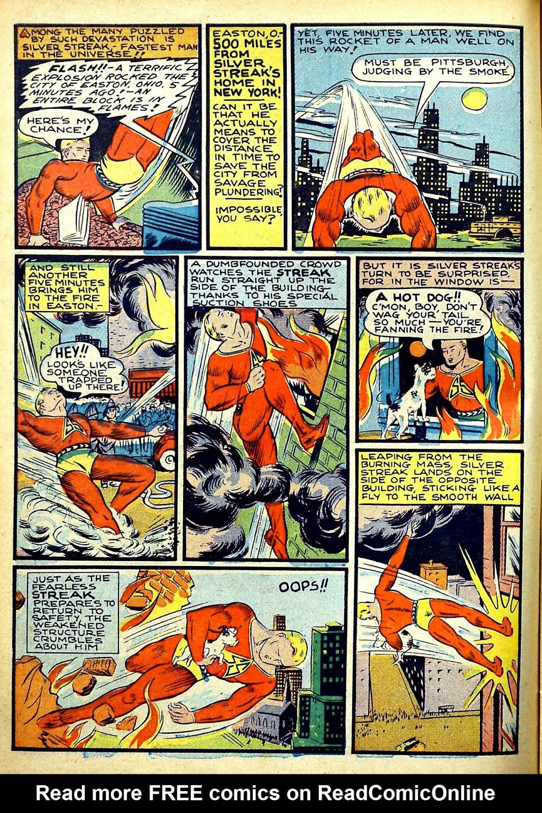 Read online Silver Streak Comics comic -  Issue #22 - 16