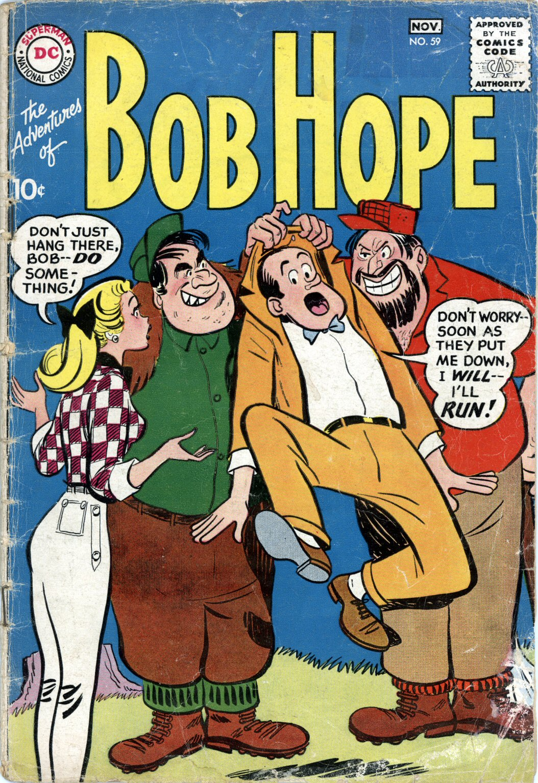The Adventures of Bob Hope issue 59 - Page 1