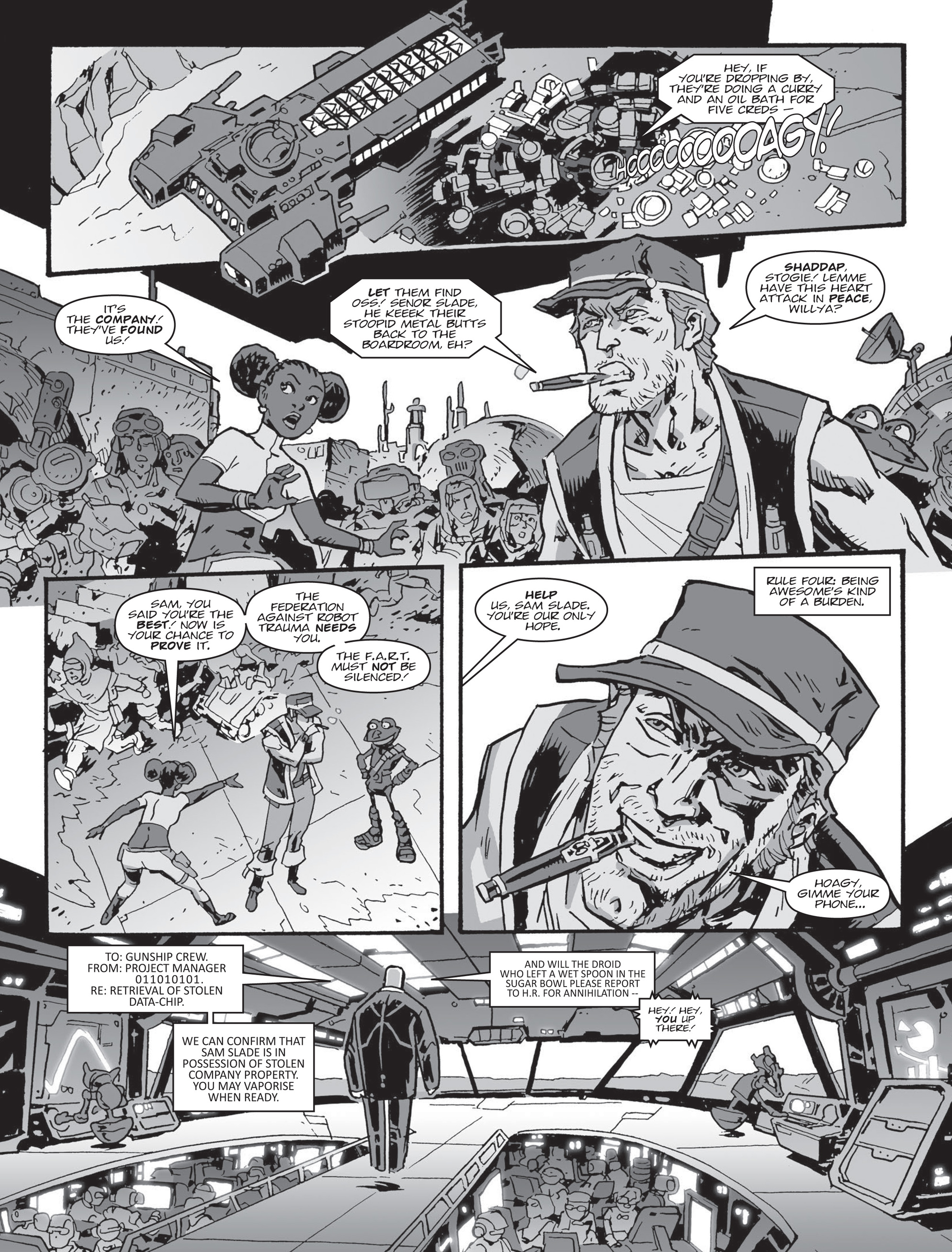 Read online 2000 AD comic -  Issue #2000 AD _Sci-Fi Special 2016 - 21