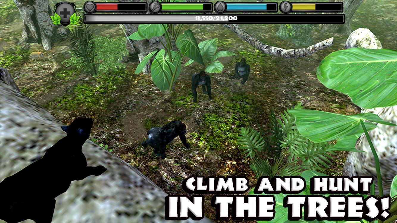 download panther simulator mod apk