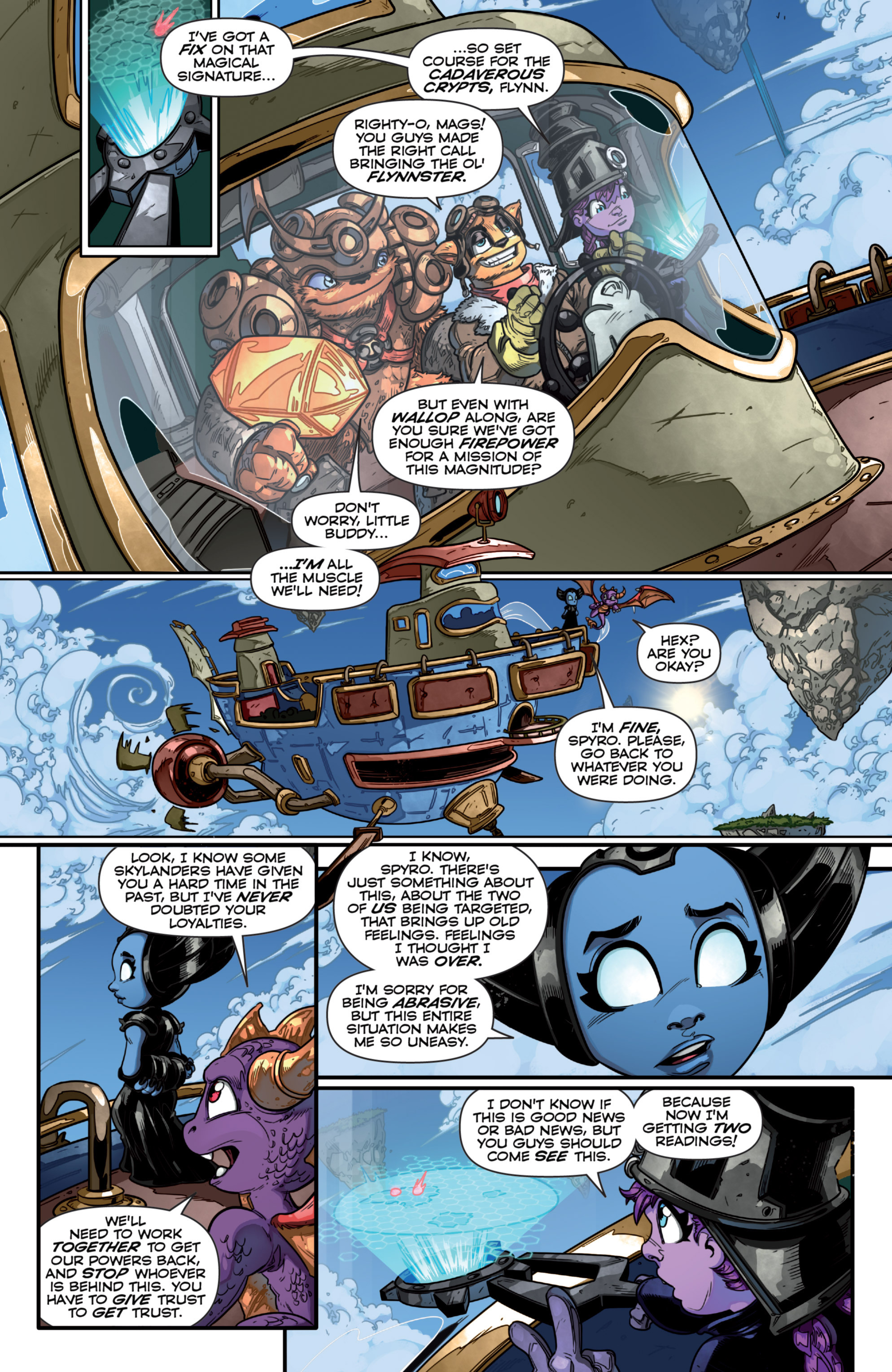 Read online Skylanders comic -  Issue #7 - 12