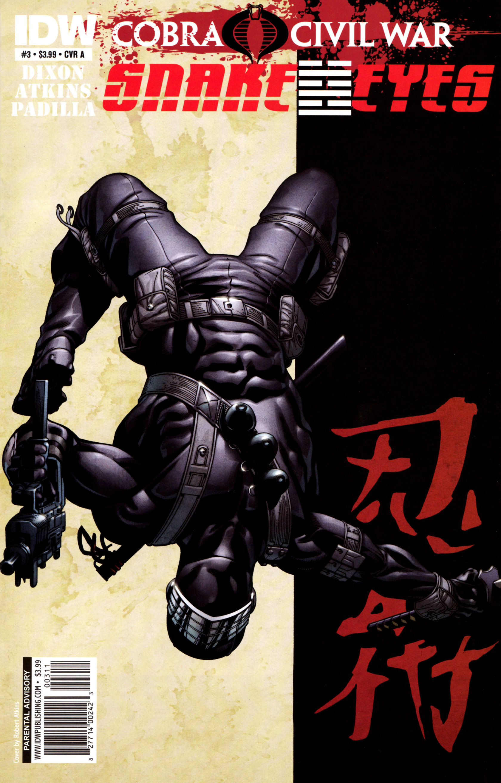 Read online G.I. Joe: Snake Eyes comic -  Issue #3 - 1
