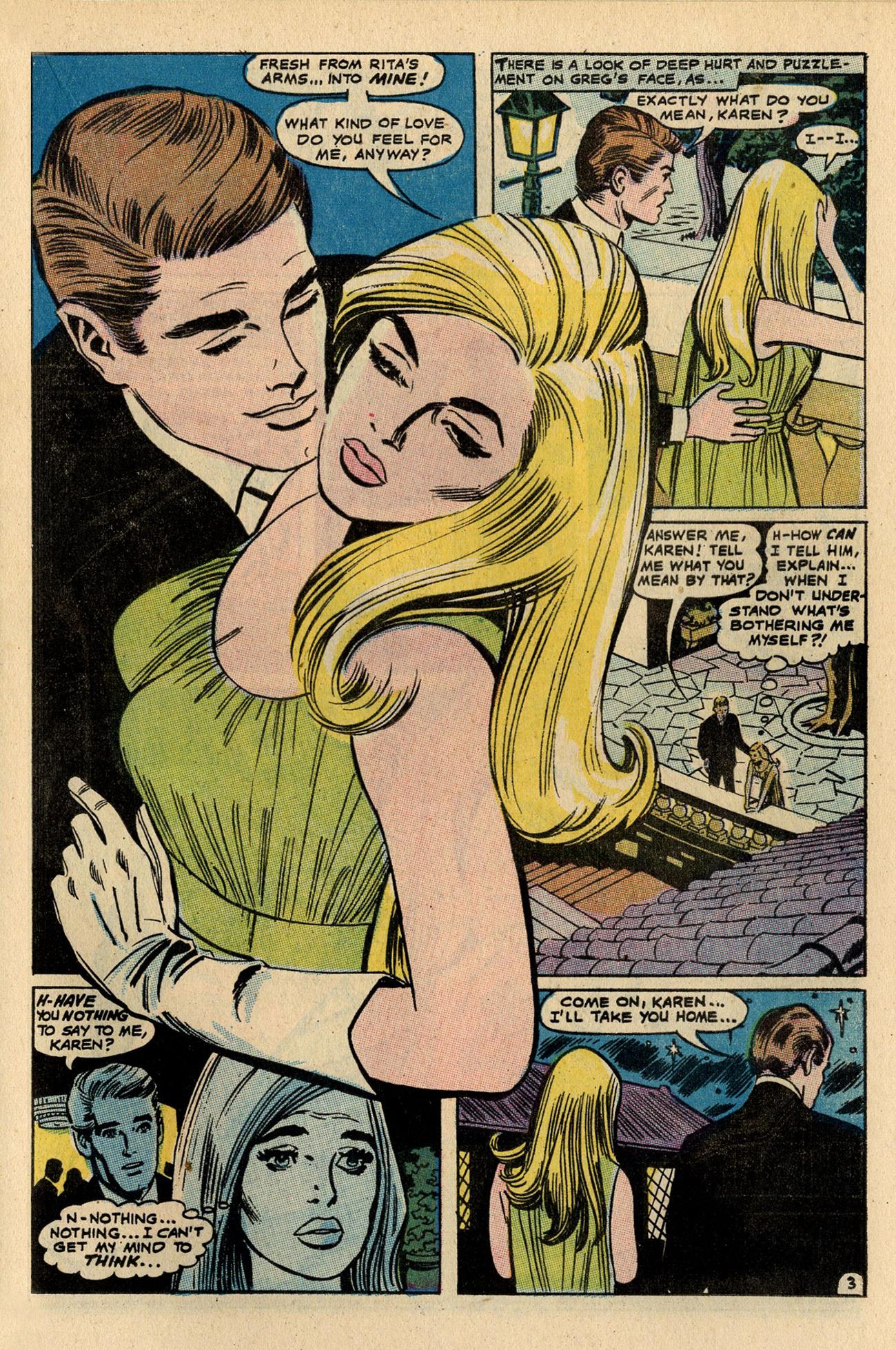 Read online Secret Hearts comic -  Issue #137 - 21