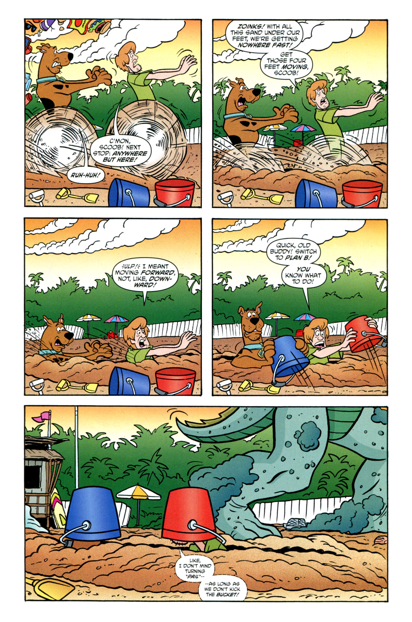 Read online Scooby-Doo: Where Are You? comic -  Issue #27 - 5