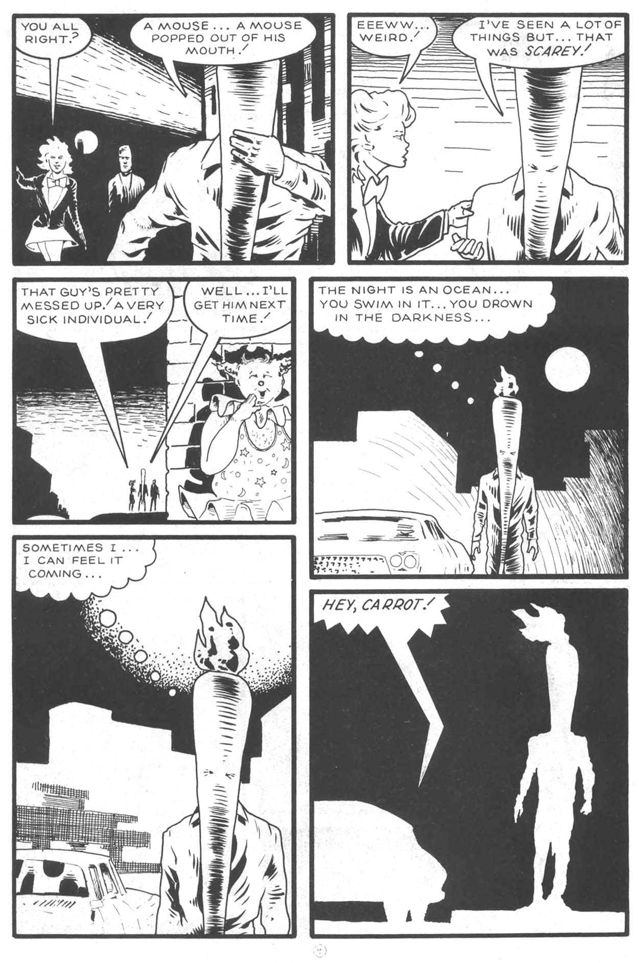 Read online Flaming Carrot Comics (1984) comic -  Issue #14 - 12