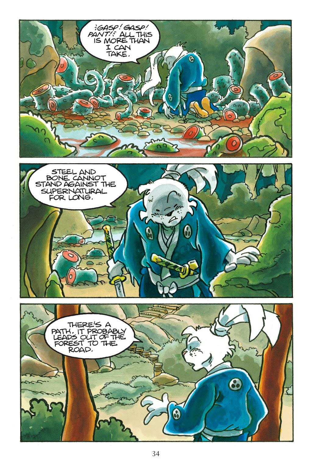 Read online Usagi Yojimbo: Yokai comic -  Issue # Full - 33