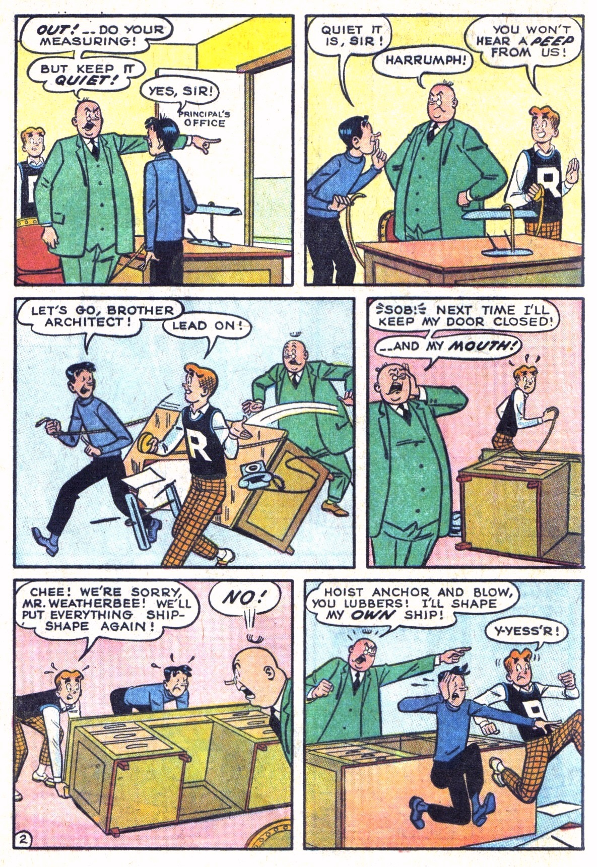 Read online Archie (1960) comic -  Issue #134 - 4