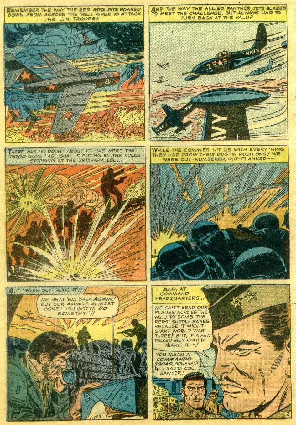 Read online Sgt. Fury comic -  Issue # _Annual 1 - 4