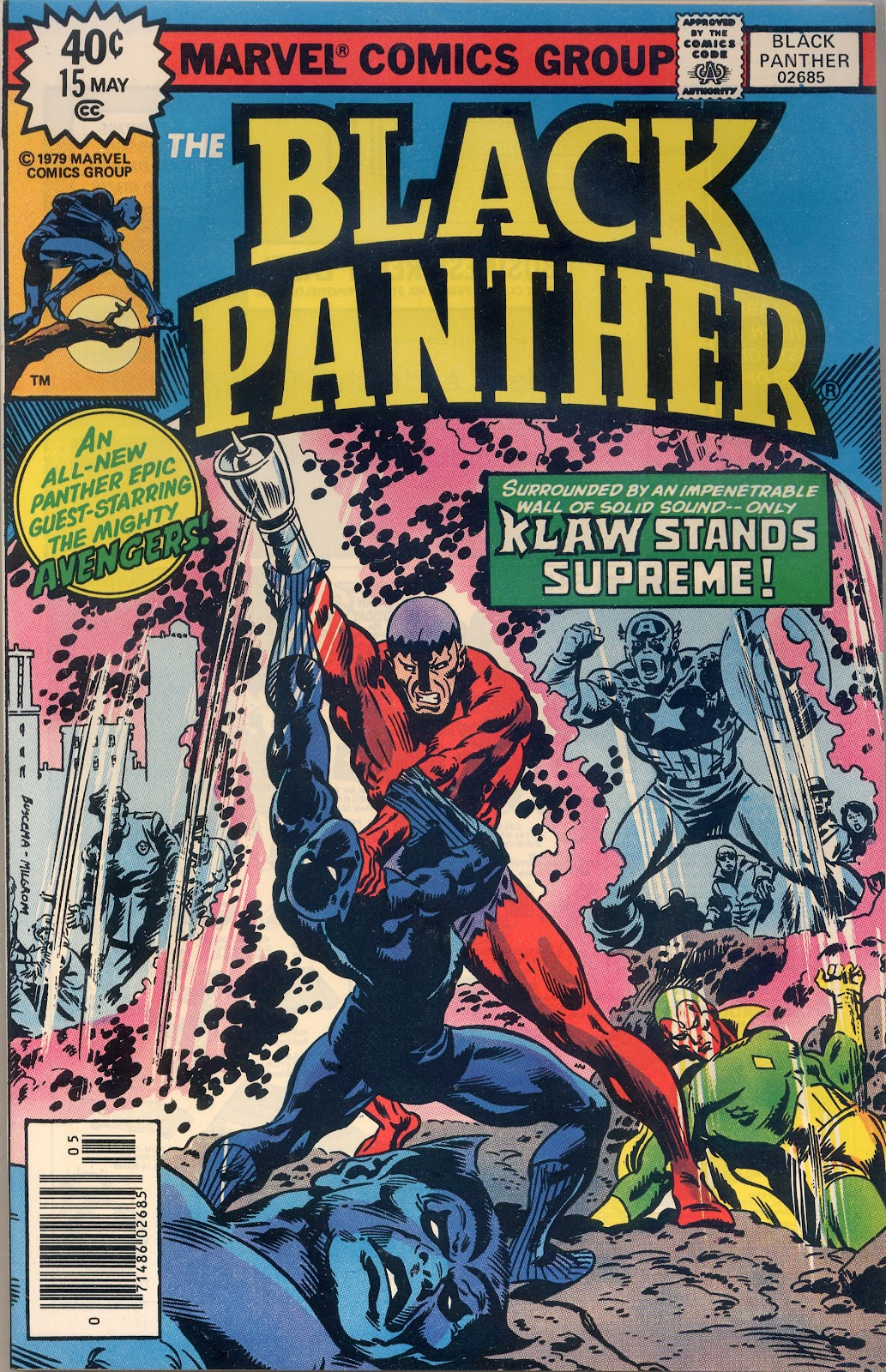 Black Panther (1977) issue 15 - Page 1