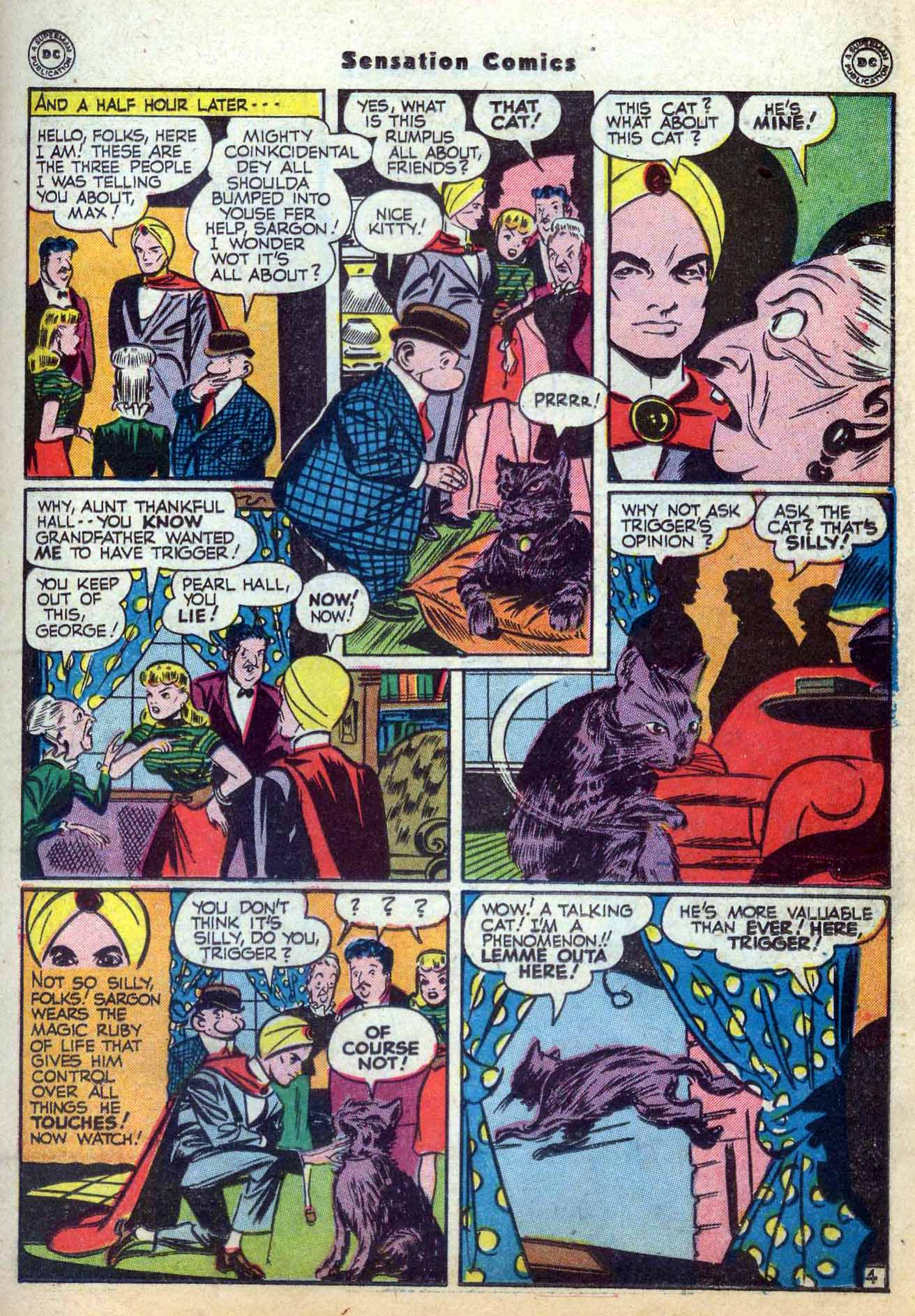 Read online Sensation (Mystery) Comics comic -  Issue #59 - 27