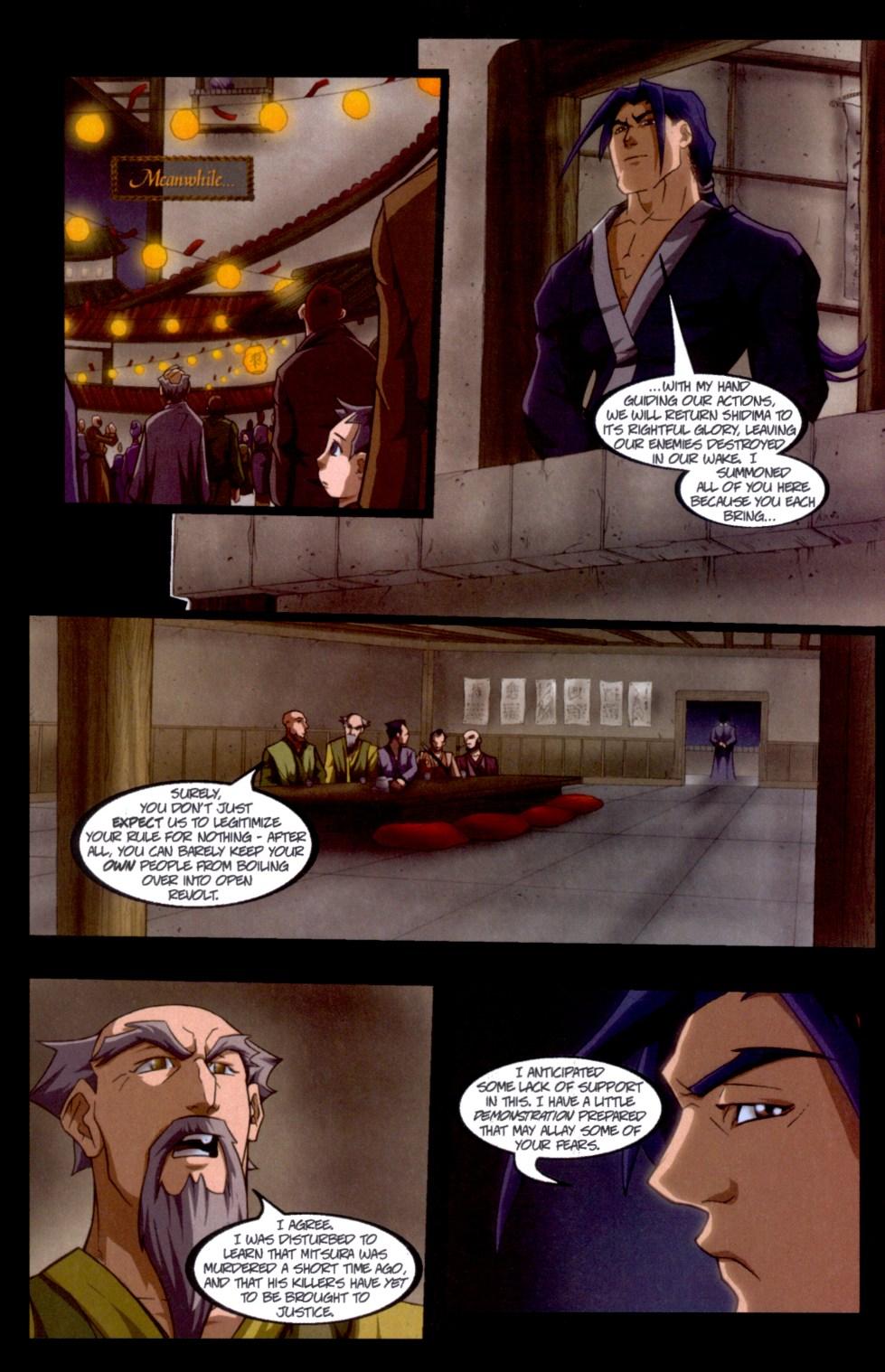 Read online Shidima comic -  Issue #6 - 9