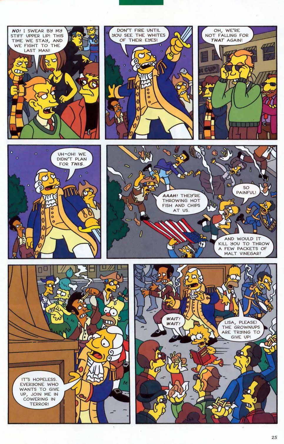 Read online Simpsons Comics comic -  Issue #87 - 26