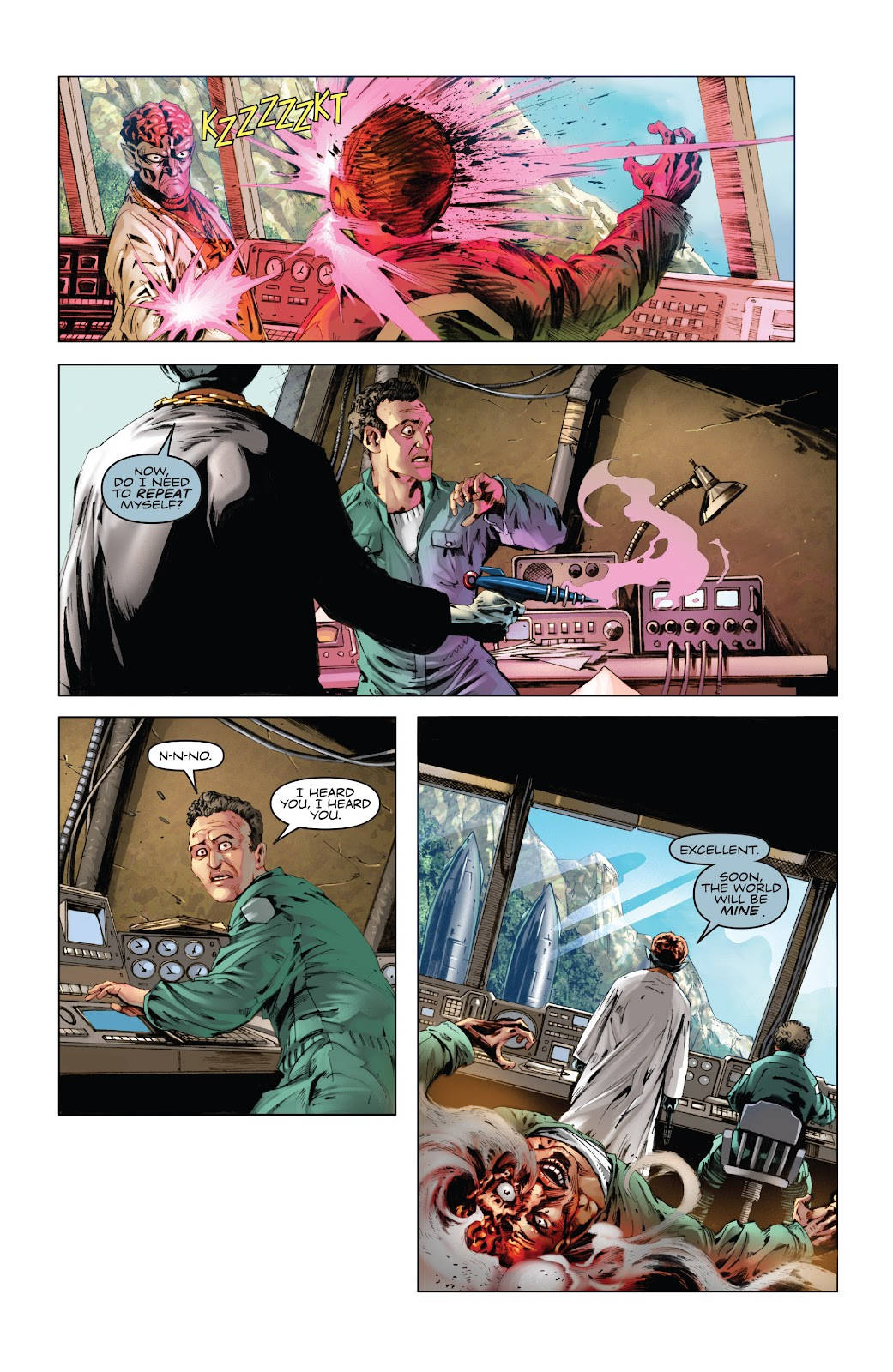 Read online Codename: Action comic -  Issue #5 - 8
