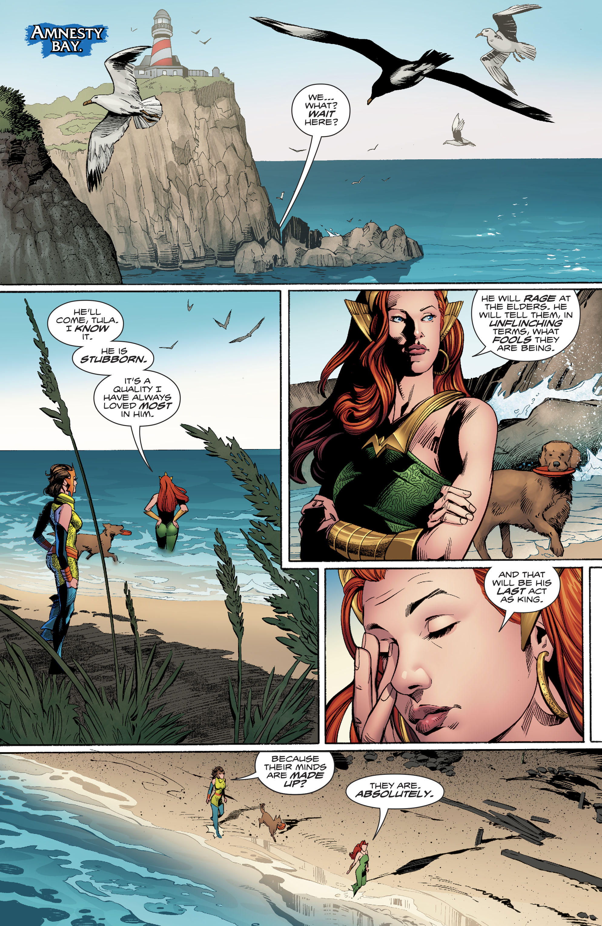 Read online Aquaman (2016) comic -  Issue #24 - 16