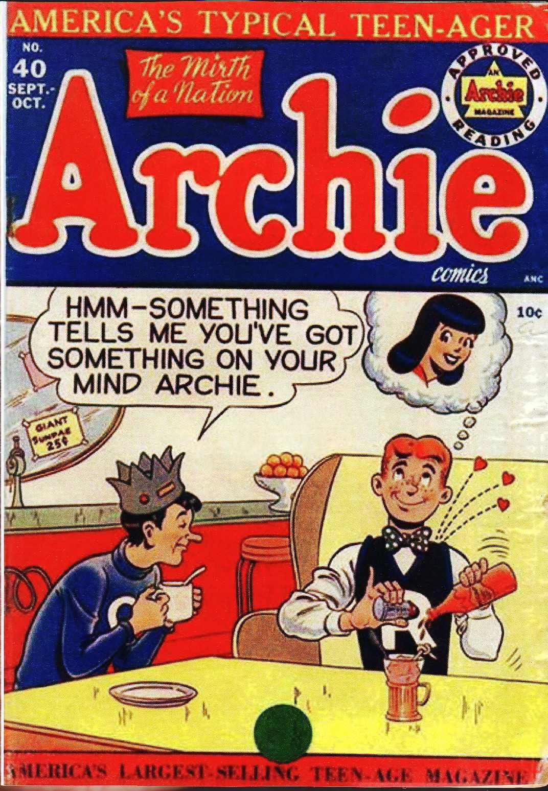 Archie Comics issue 040 - Page 1
