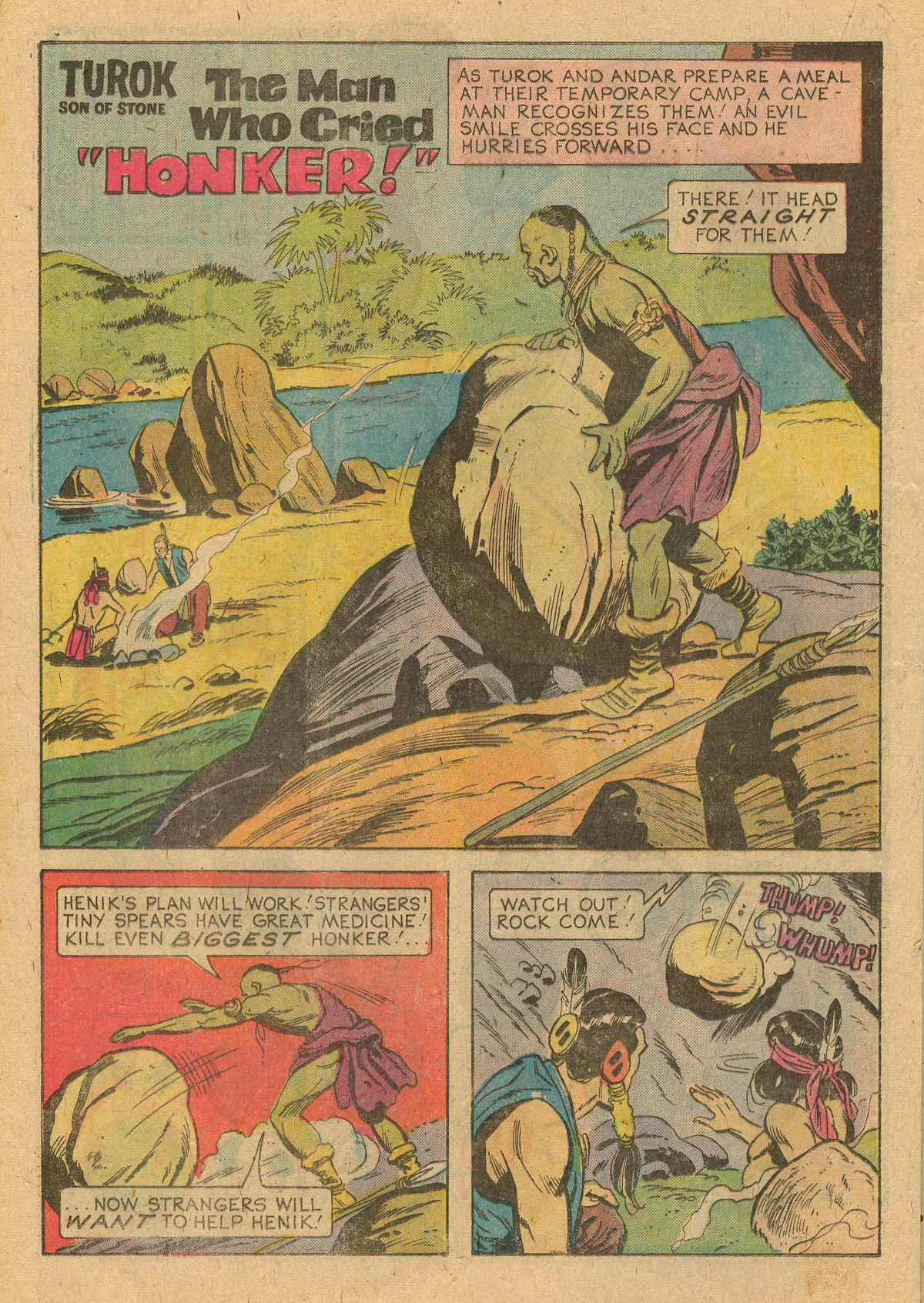 Read online Turok, Son of Stone comic -  Issue #105 - 20