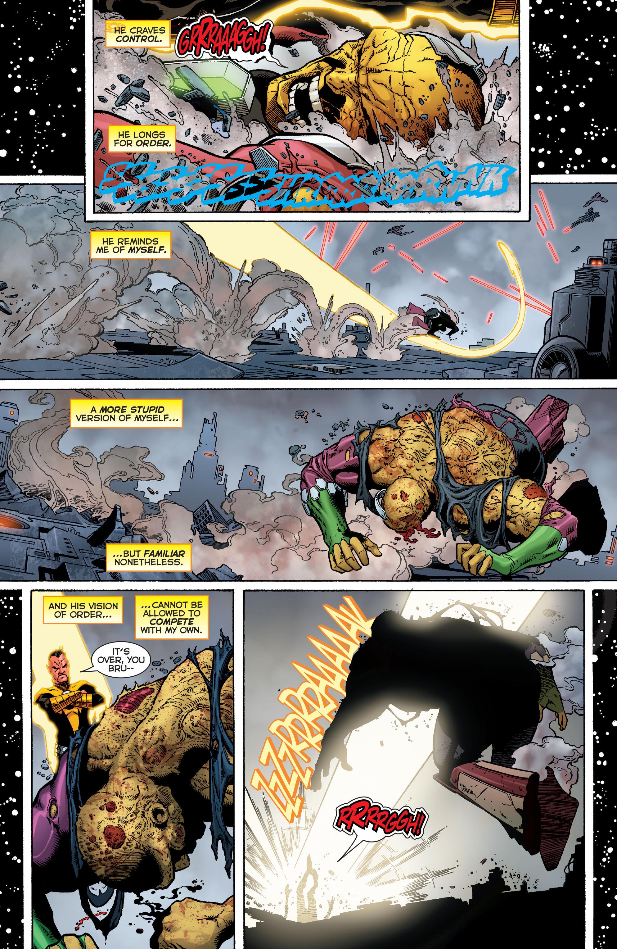 Read online Sinestro comic -  Issue #9 - 20